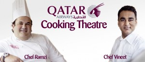 Qatar Airways Cooking Theater - Quelle: QIFF